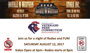 Rodeo at Double M Western Store, August 12, 2017