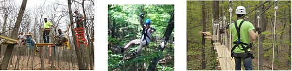 Mountain Adventure Ropes Course