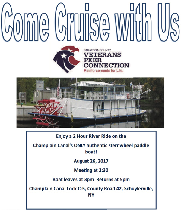 Come Cruise With Us August 26, 2017