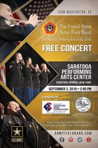 SPAC Concert - Army Field Band