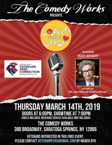 Comedy for a Cause - Comedy Night - March 2019