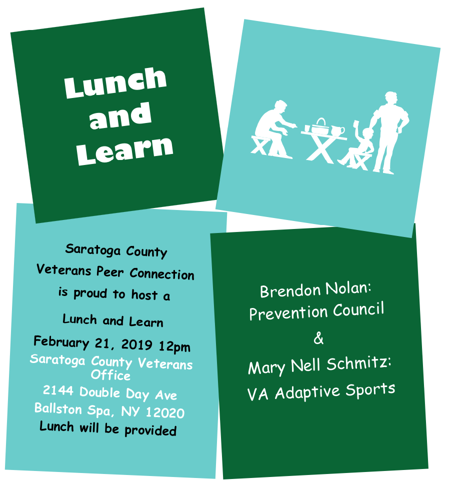 Lunch and Learn - Saratoga County Veterans Peer Connection