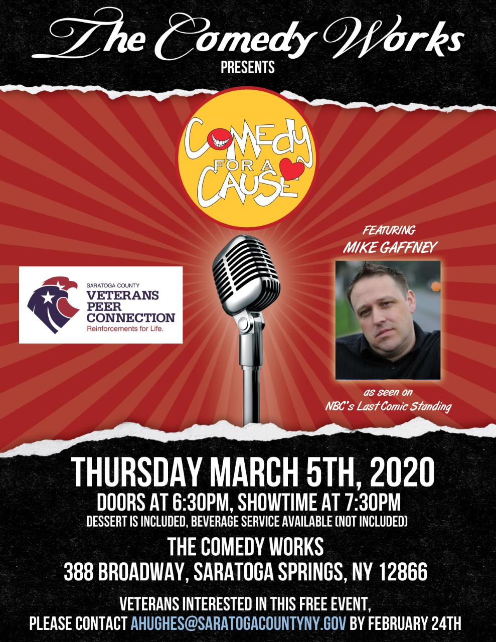 Comedy for a Cause featuring Mike Gaffney