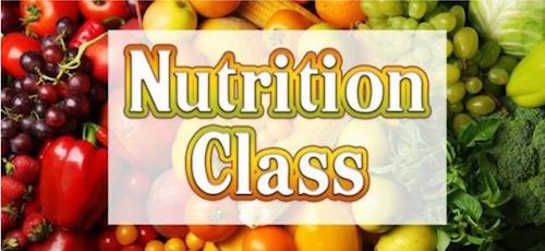 Nutrition Class