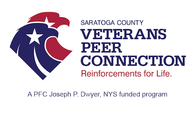 Veterans Peer Connection in Saratoga County Logo