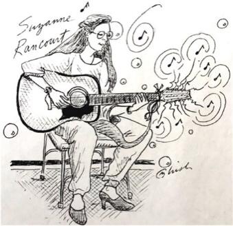 Suzanne Rancourt - acoustic guitar